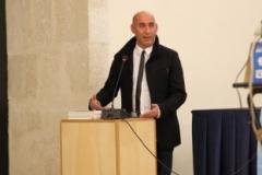 Carlo Pastore - Direttore editoriale Menabò - Creazioni d'Arte - Palazzo Lanfranchi Sala Levi Matera