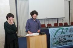 Nadia Casamassima e Andrea Santantonio voci narranti a Palazzo Lanfranchi Sala Levi - Matera